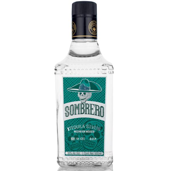 Sombrero silver tequila 38%