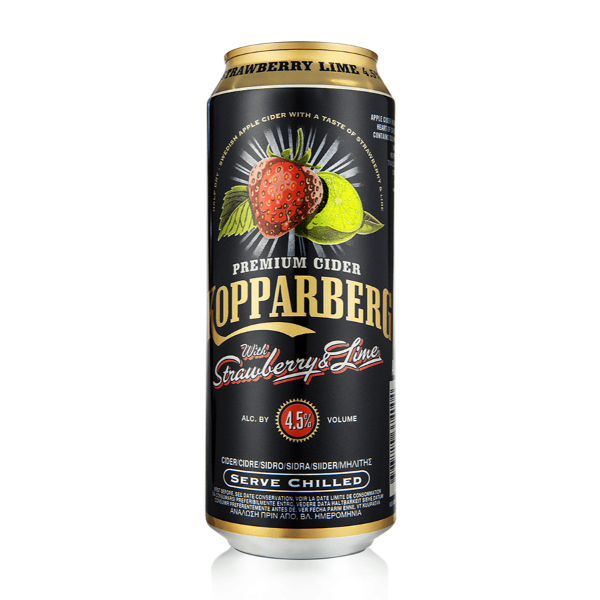 Kopparberg Strawberry & Lime Premium 4,5% Can