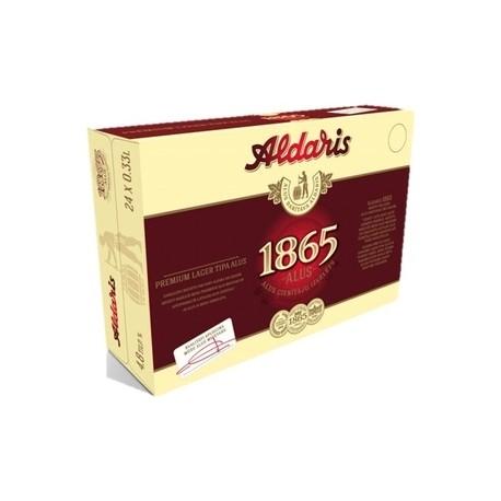 Aldaris 1865 24x33cl 4,8%