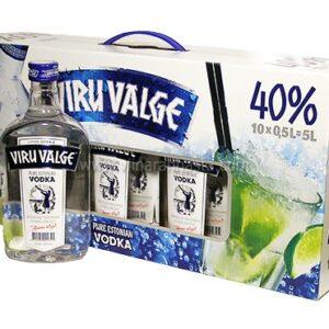 Viru Valge 10x50cl 40%