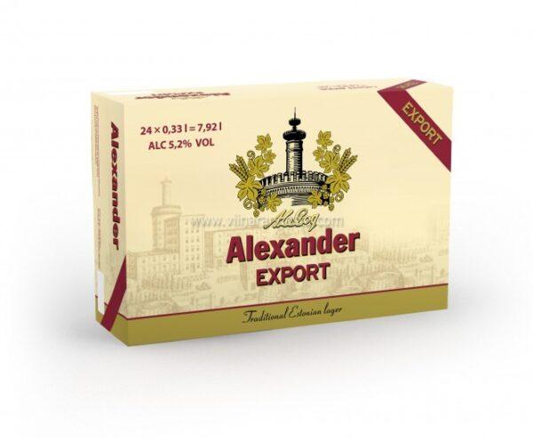Alexander Export 24x33cl 5,2%