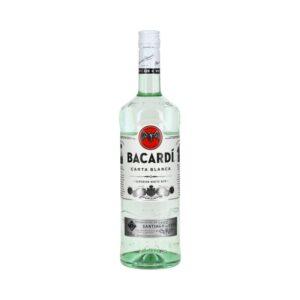 Bacardi Carta Blanca 37,5% 1L alko1000.fi