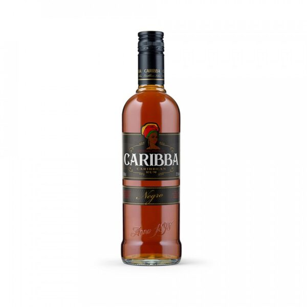 Caribba Negro rum 37,5% 1L alko1000.fi