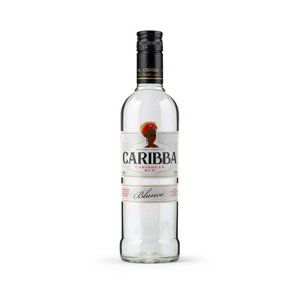 Caribba blanco rum 37,5% 0,5L alko1000.fi