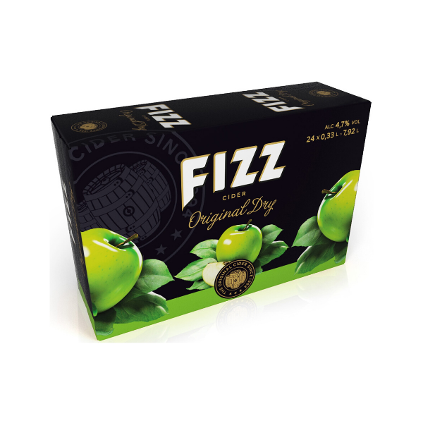 Fizz Original Dry Apple 24x33cl 4,7%