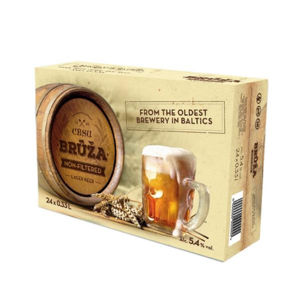 alko1000.fi Cesu Bruža Non-Filtered 24x33cl 5,4%